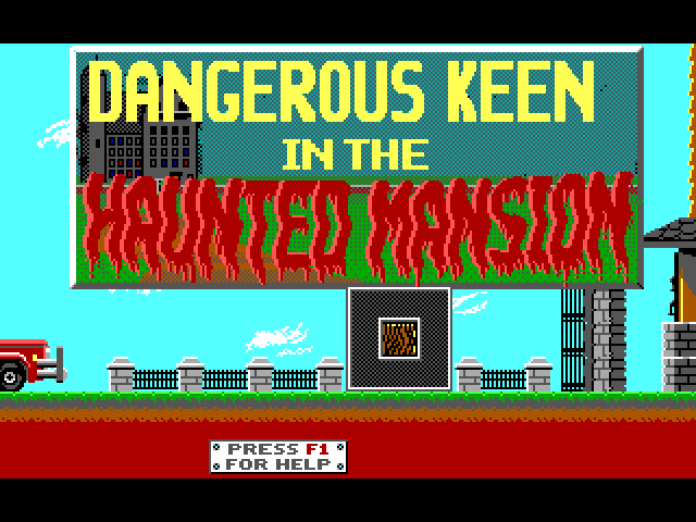 Dangerous Keen in the Haunted Mansion