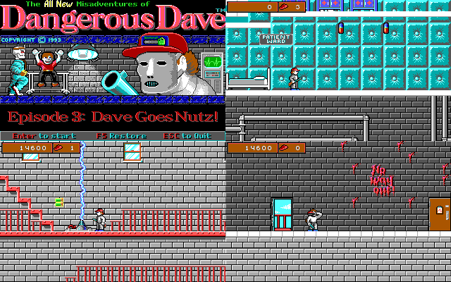Dangerous Dave: Dave Goes Nutz!
