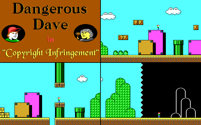 Dangerous Dave in Copyright Infringement
